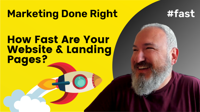 A Fast Website and Landing Page is key for your Business