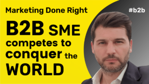 B2B SME competes to conquer the world