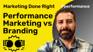 Performance Marketing vs Branding